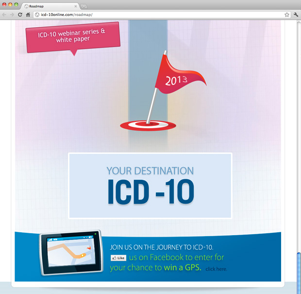 ICD Marketing Website