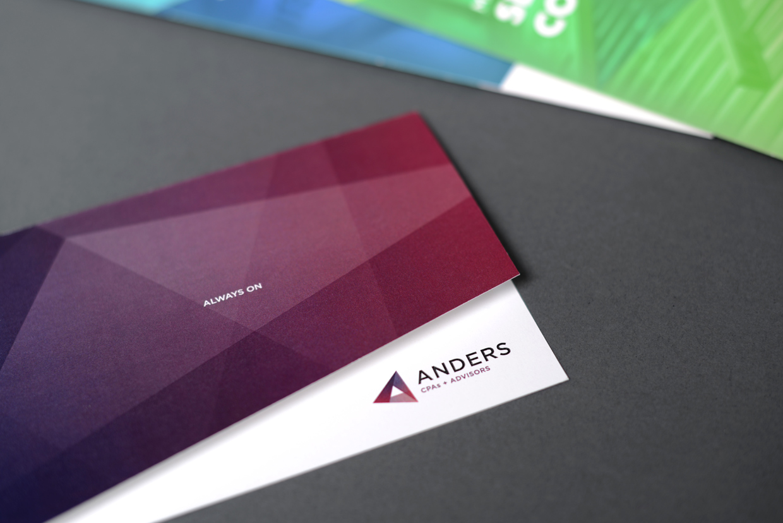 Anders CPA Notecard Design