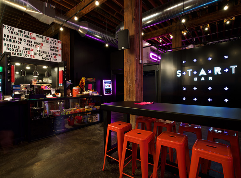 Start Bar Branding and Design