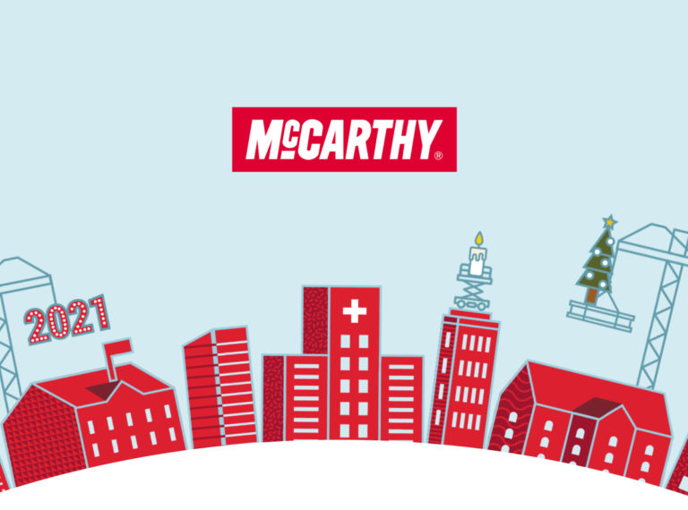 Homepage illustration for McCarthy's website